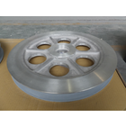 アルミ製プーリーへのセラミック溶射コーティング