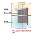 電子部品の急速温度サイクル試験