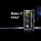 Make IT easy! 工具不要でセットアップできる耐震ITラック!