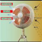 エアウォッシュフィルター 工場扇風機用