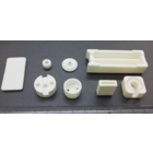 量産用セラミックス一般品加工事例[金型プレス成形品]電気的絶縁性部品、樹脂等の耐熱部品の置き換え